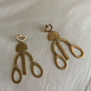Fabulous chandelier statement earrings